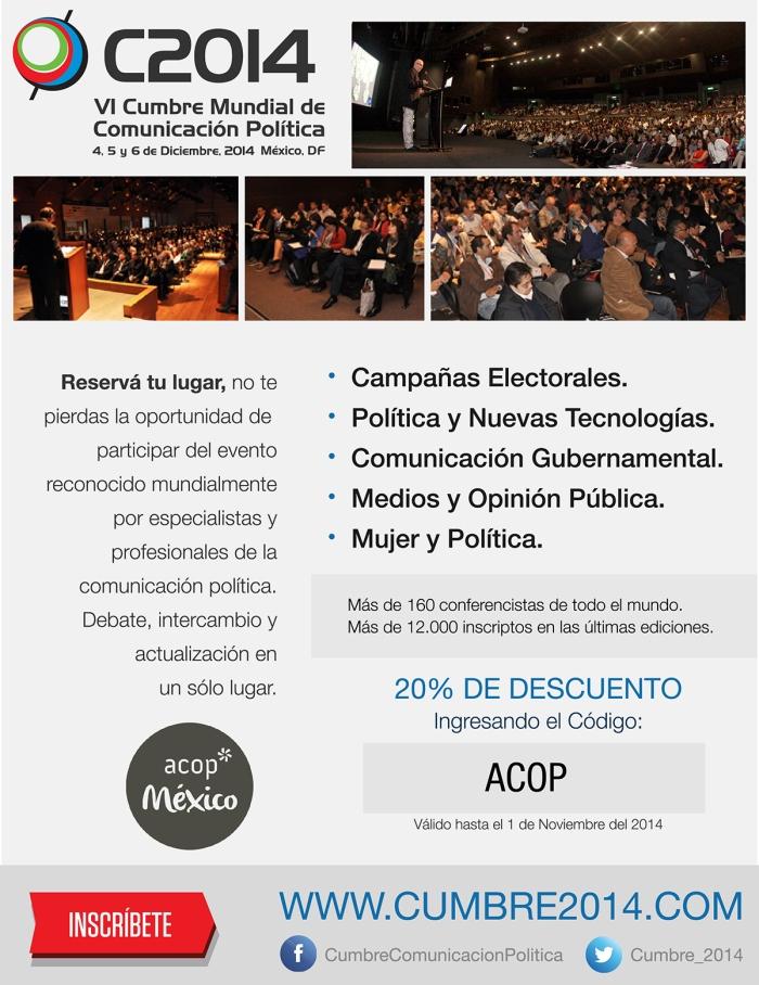 ACOP VI Cumbre Mundial de Comunicación Política